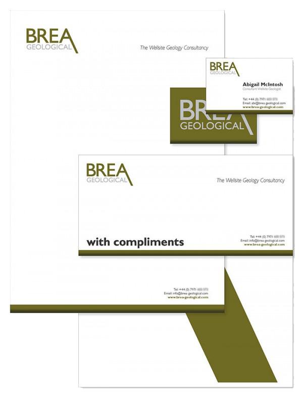 Brea Geological Branding