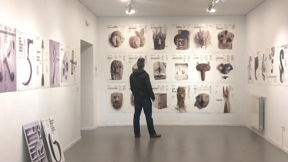 Palacio Cartels Exhibition in Segovia