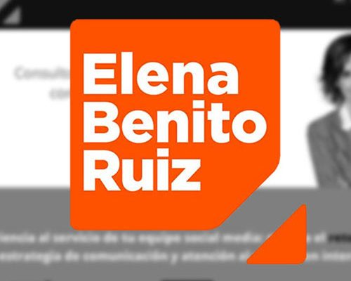 Branding for Social Media Manager Elena Benito Ruiz